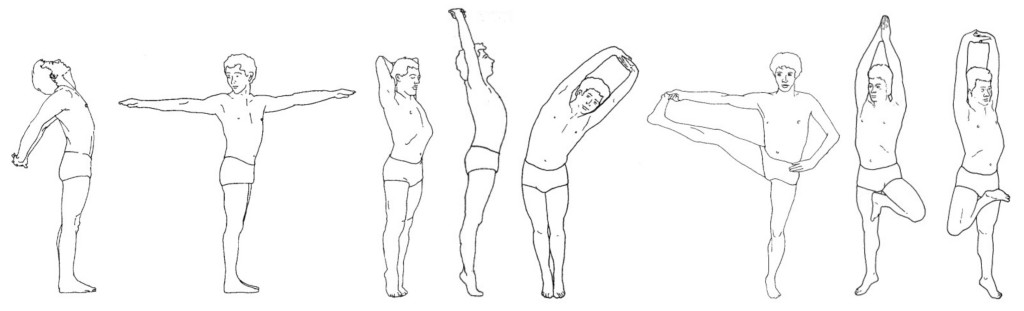 Krishnamacharya also decided that you could be in one posture and do a number of variations