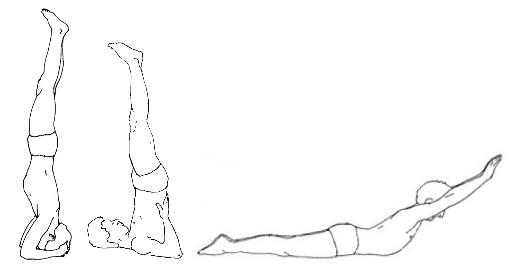 Headstand Counterpose
